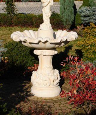 Fontanny - fontanna napoli z dzieckiem