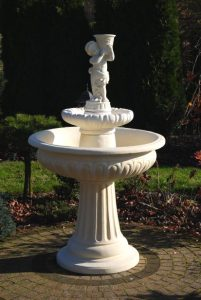 Fontanny - fontanna porto z dzieckiem