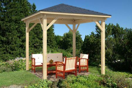 Drewniana altana ogrodowa Cabrera 300x300 cm