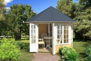 Drewniana altana ogrodowa Louise 4F 6,5 m2